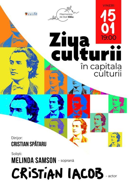 """""""Ziua Culturii în Capitala Culturii""""- eveniment major al începutului de an cultural"""