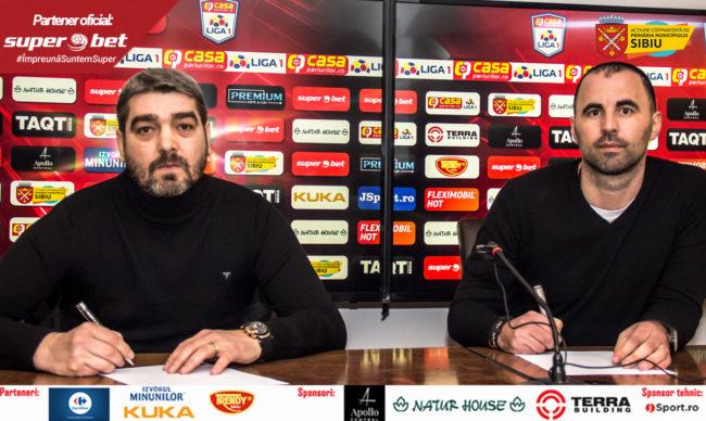 FC Hermannstadt, pregătită de un fost jucător al Generației de Aur | VIDEO