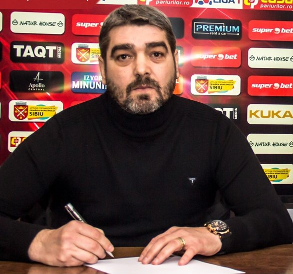 FC Hermannstadt are parte de un nou început, cu Liviu Ciobotariu la cârmă