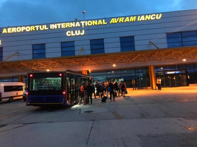 Revin zborurile către Marea Britanie de pe aeroportul din Cluj
