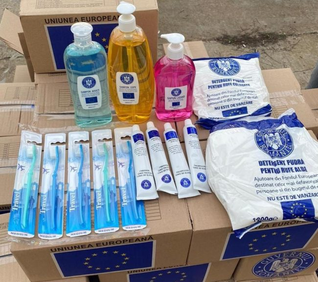 Primăria Sibiu va distribui o nouă tranșă de pachete cu produse de igienă persoanelor defavorizate din municipiul Sibiu