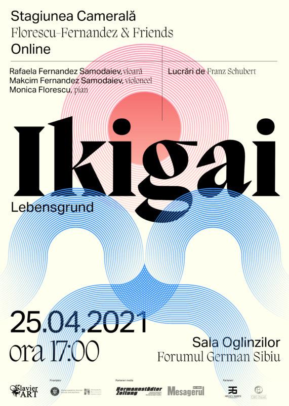 Concert-concept de muzică clasică: Ikigai sau despre scopul vieții