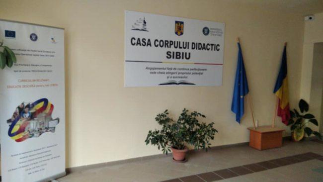 CCD Sibiu: Formarea continuă a cadrelor didactice, un instrument esențial în procesul de transformare a sistemului educațional
