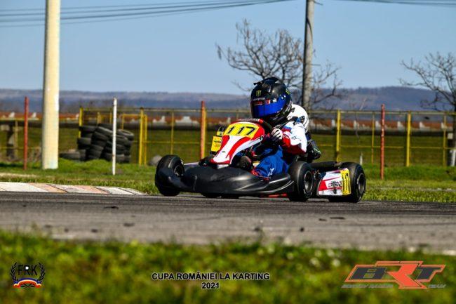 Evan Vintilă, noua speranță a sporturilor cu motor din Sibiu