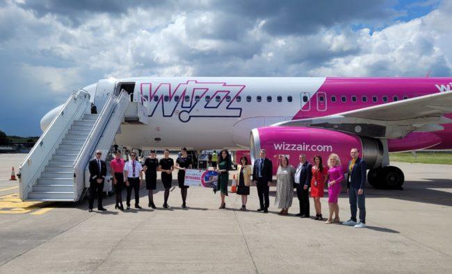 """Patru noi rute Wizz Air debutează de pe Aeroportul Internaţional """"Avram Iancu"""" Cluj"""