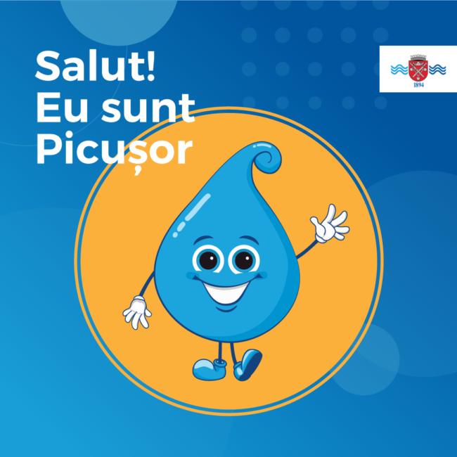 Apă Canal Sibiu lansează mascota Picușor și ne arată ce știu cei mai mici despre apa potabilă și uzinele de apă