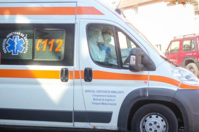 "Ambulanța, pe ""avarii"""