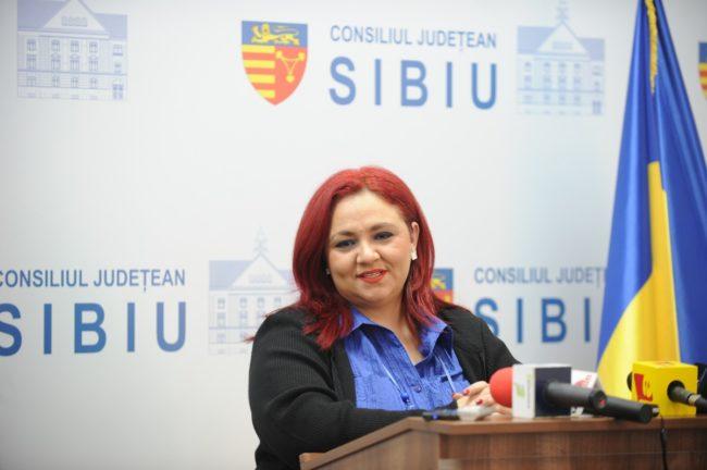 Silvia Macrea, cetățean de onoare al județului Sibiu