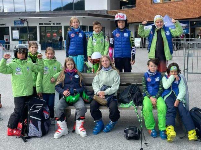 Schiorii Sibiu Rally Team se pregătesc pe zăpadă în plină vară