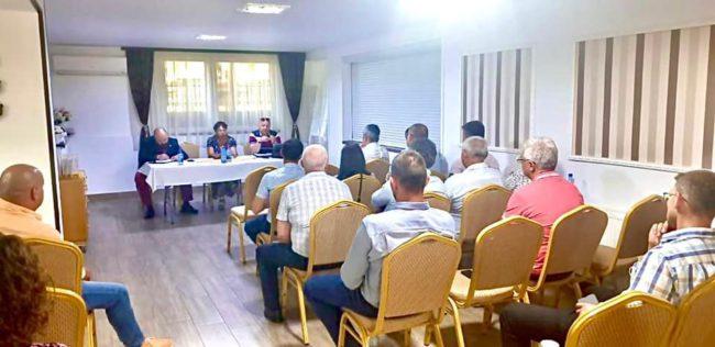Primarii sibieni s-au întâlnit cu un reprezentant al Departamentului pentru Dezvoltare Durabilă