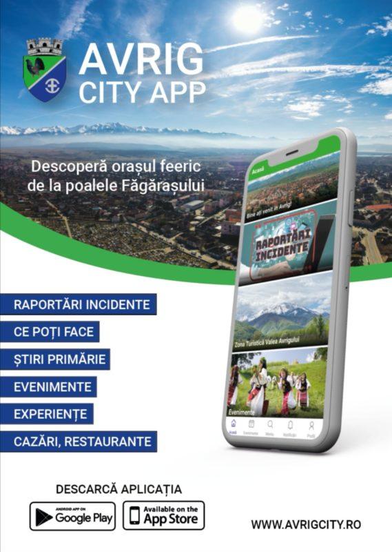 Orașul Avrig are, de astăzi, o aplicație oficială