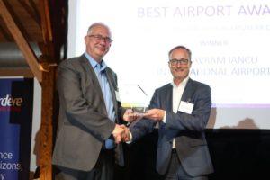"""Aeroportul din Cluj, premiat cu Best Airport Award: """"Traficul din vară, peste media europeană"""""""